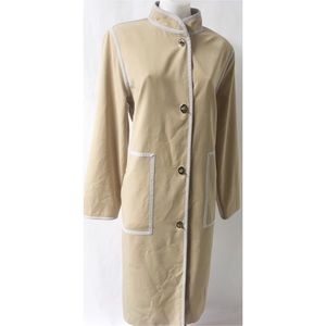 Grey & Tan Jacket Size 12